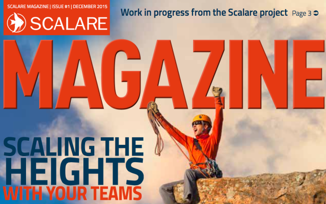 Scalare Magazine – scaling news from a European research project