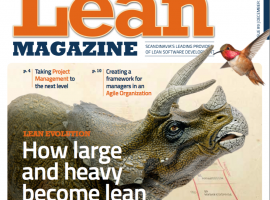 Issue #9 of Lean Magazine in Issuu-format