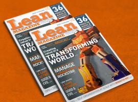 Lean Magazine #15 has been launched – Main theme: Change